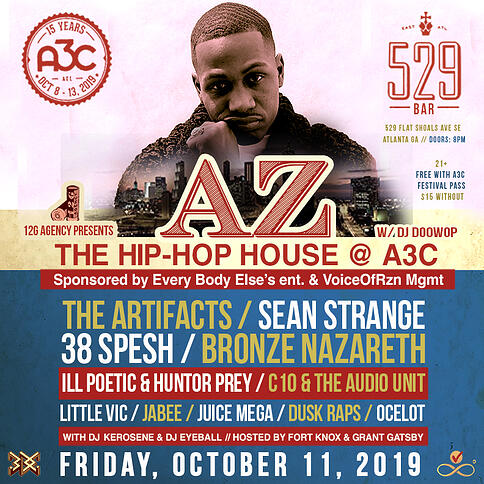 A3C Festival Flyer (IG) - Gage Luce