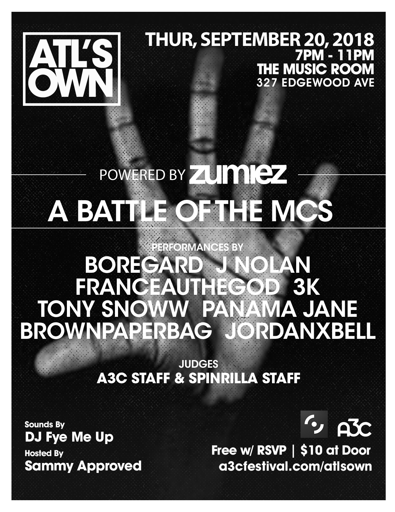 Battle of the MCs - ATLs Own4.25x5.5 (9)