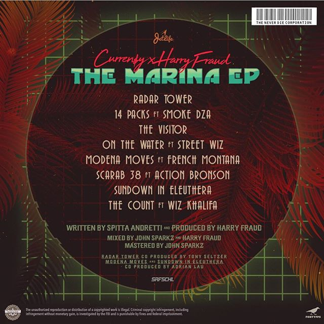 Curren$y - The Marina Back
