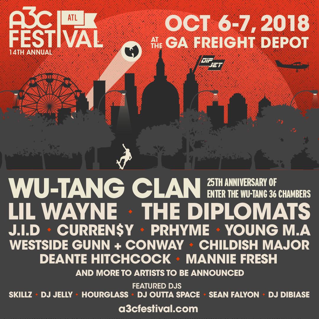 A3C Festival 2018 IG Poster