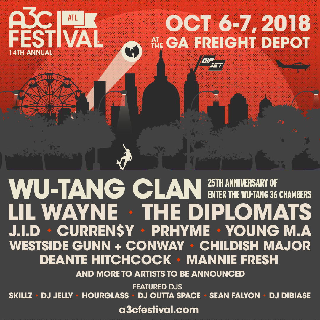 A3C Festival 2018 IG Poster