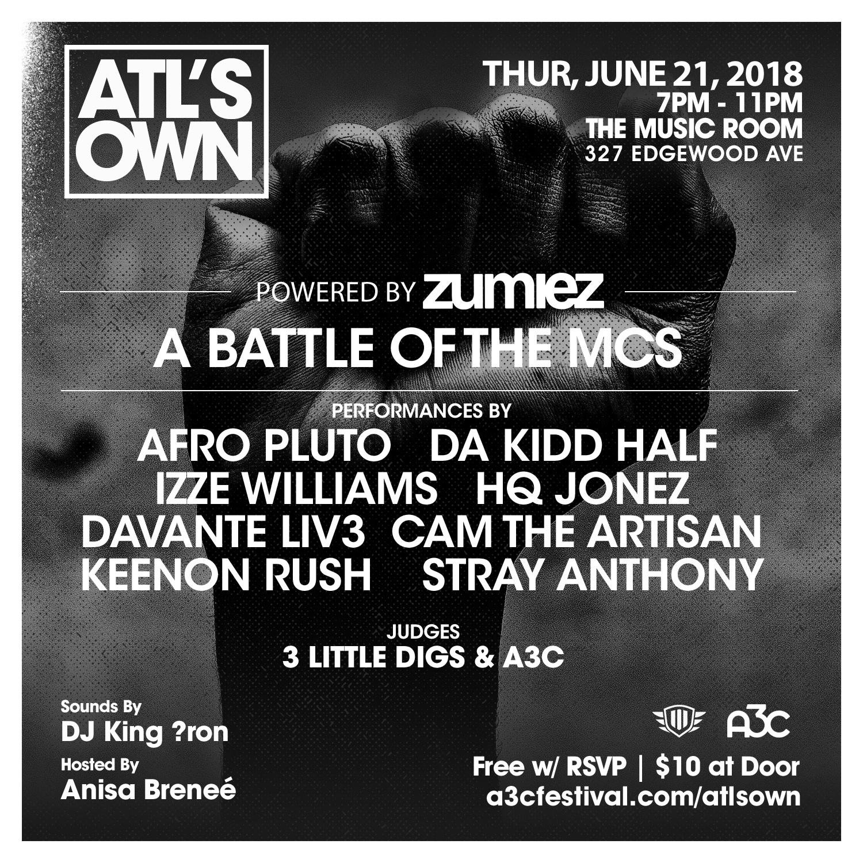 Battle of the MCs - ATLs Own-2