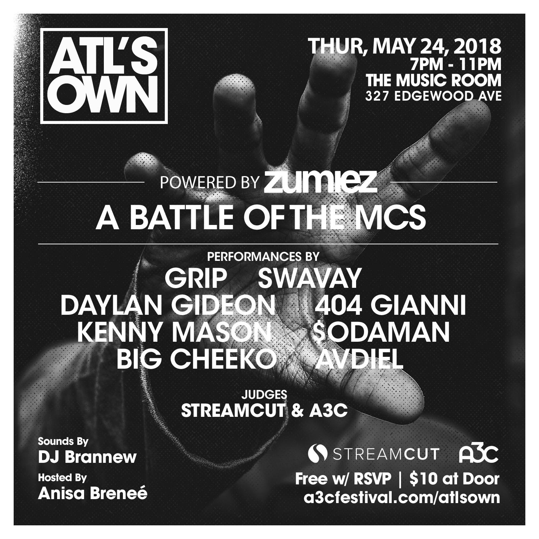 Battle of the MCs - ATLs Own