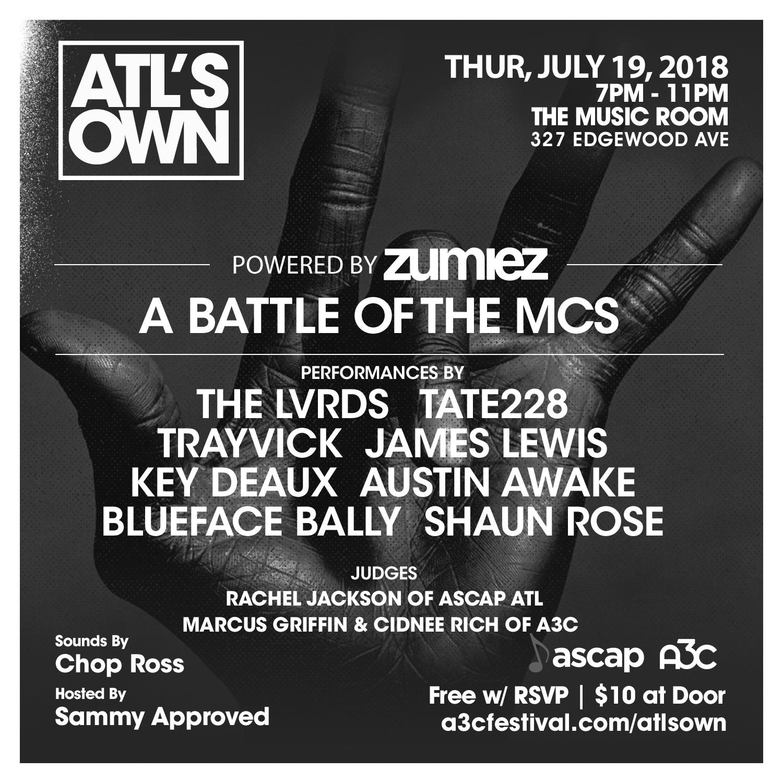Battle of the MCs - ATLs Own (5)