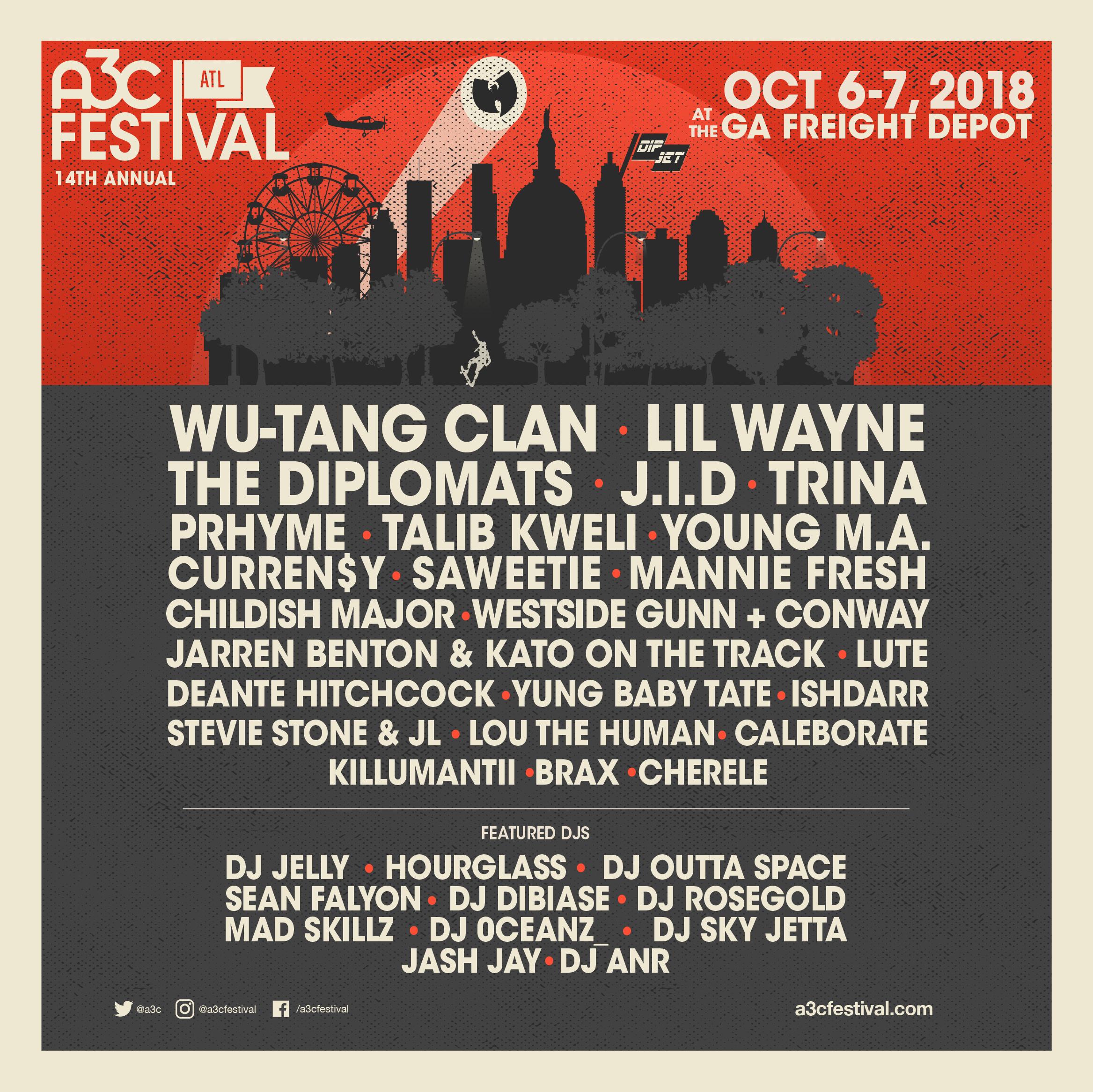 Festival Poster - A3C 2018 - FINAL IG