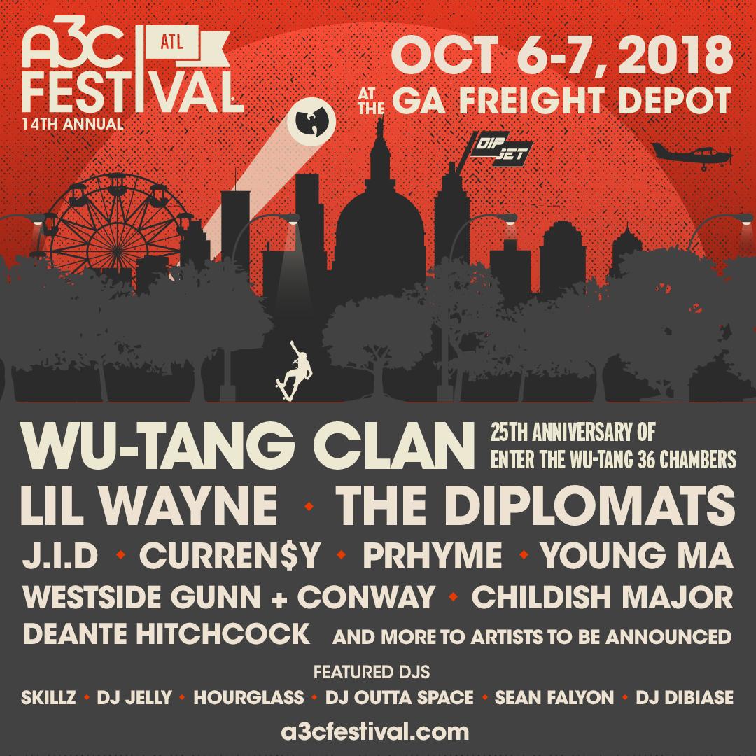 A3C 2018 Festival IG Poster