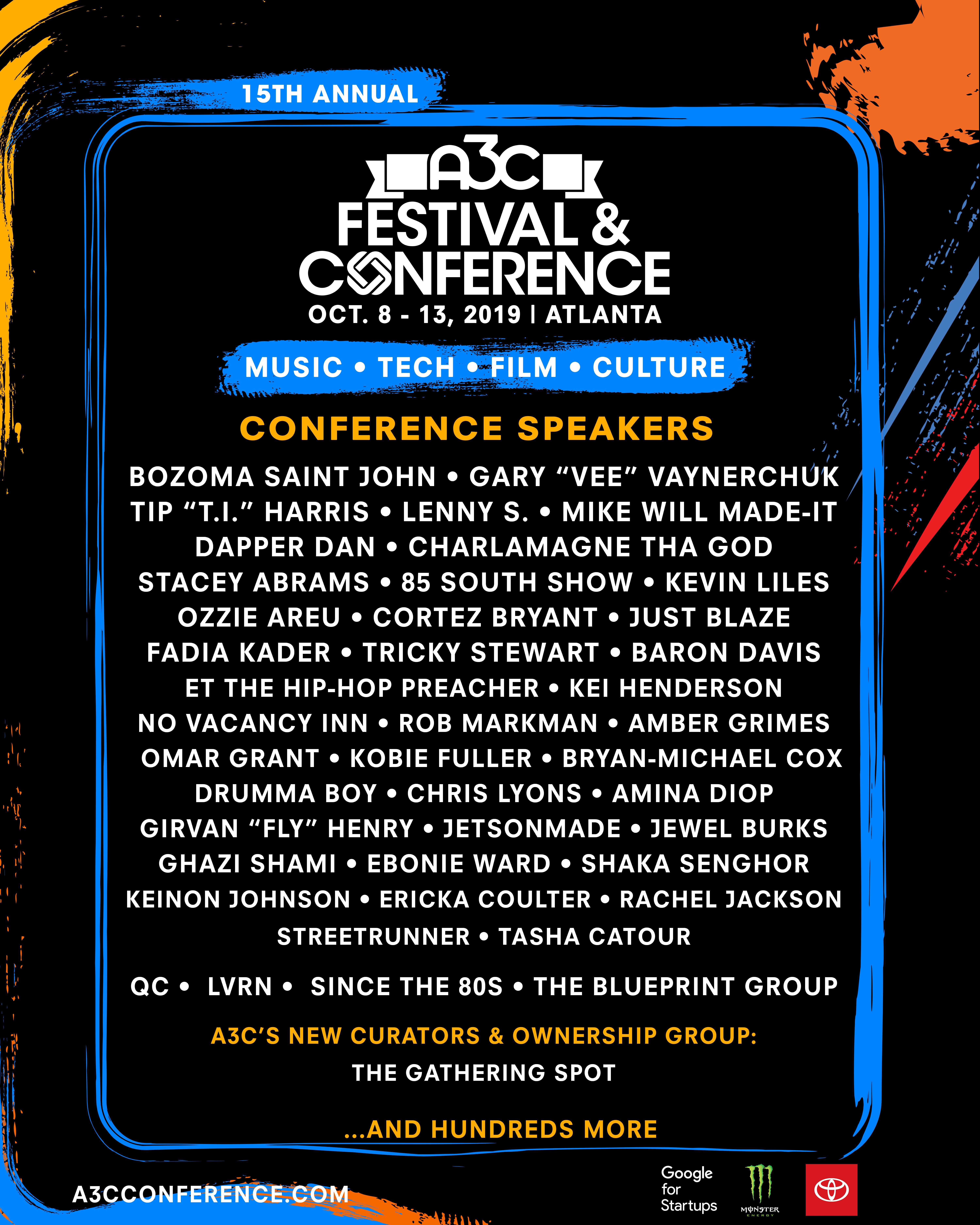A3C 2019 Conference Speaker Poster - FINAL