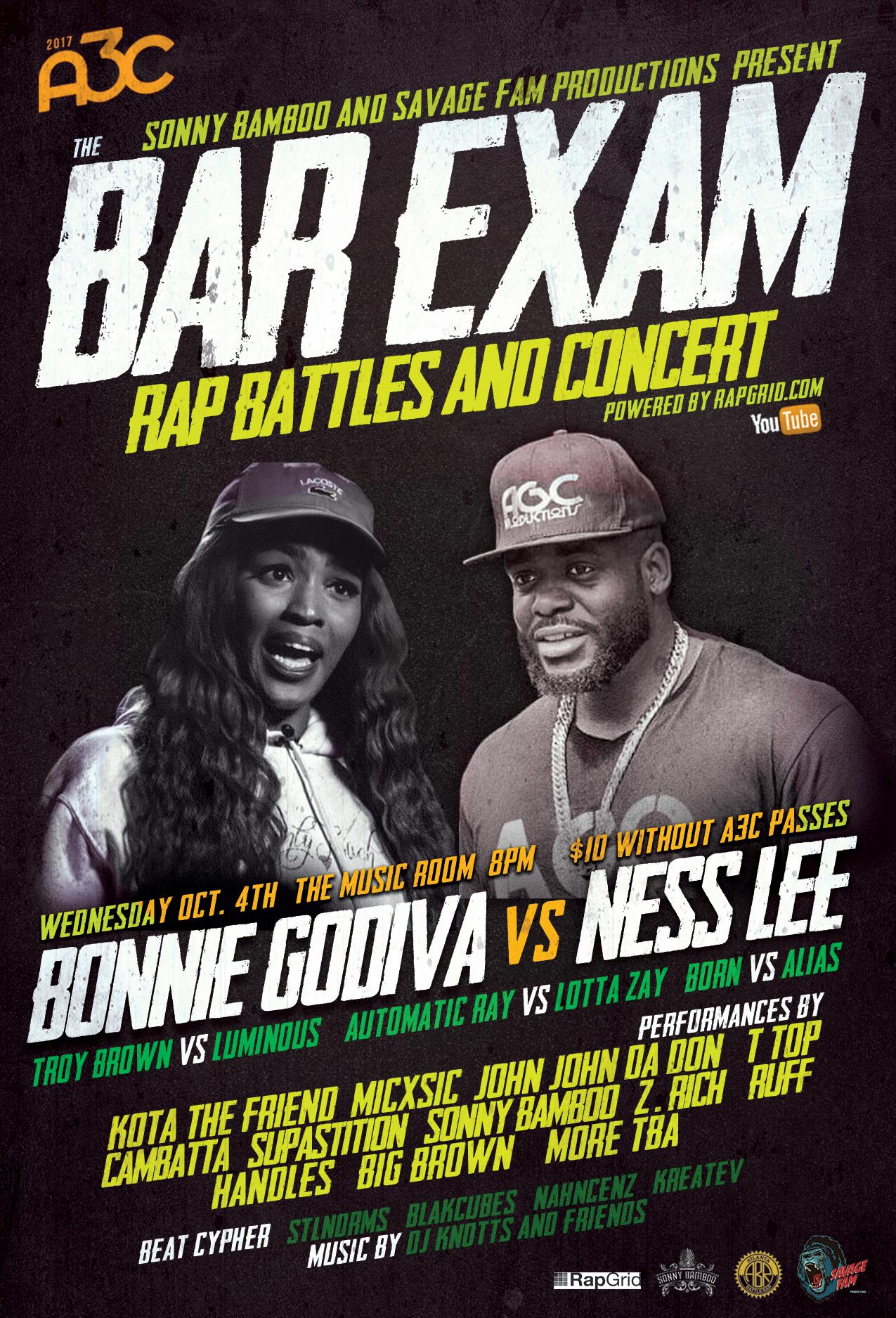 Rap Battle Bar Exam - A3C 2017 Flyer.png