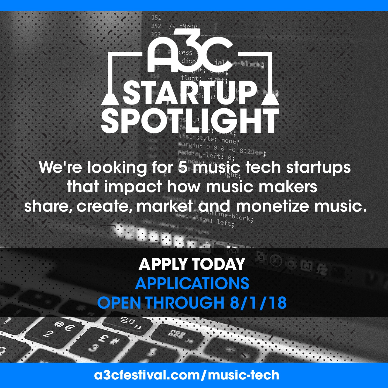 startup spolight application